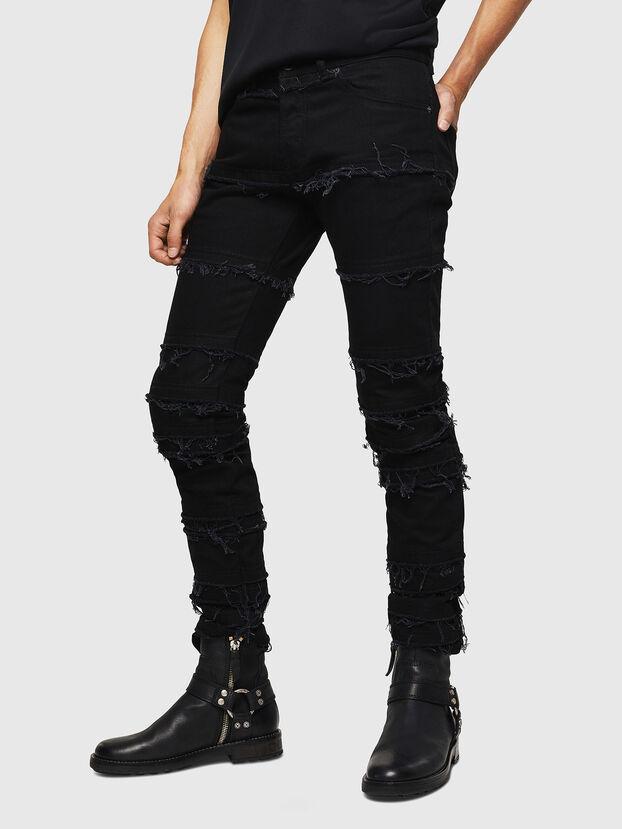 TYPE-2813-X, Schwarz - Jeans