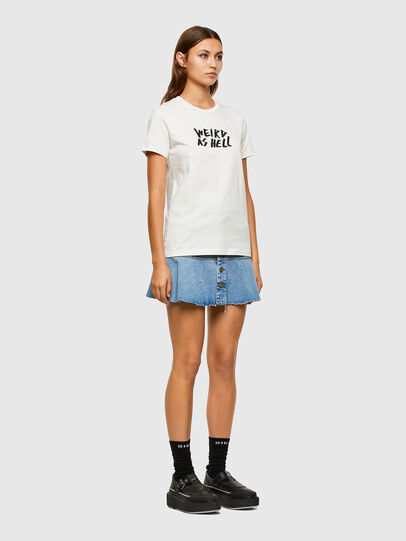 Diesel - T-SILY-E55, Weiß - T-Shirts - Image 5
