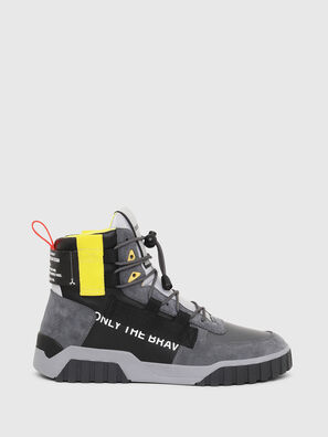 S-RUA MID SP, Grau/Schwarz - Sneakers