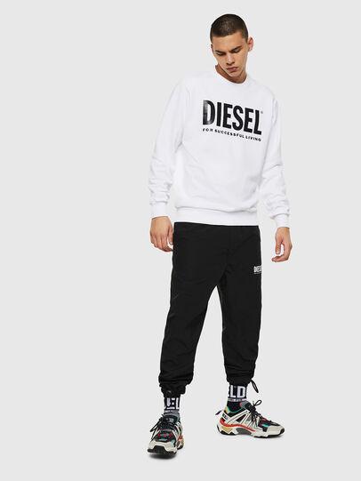 Diesel - S-GIR-DIVISION-LOGO, Weiß - Sweatshirts - Image 7