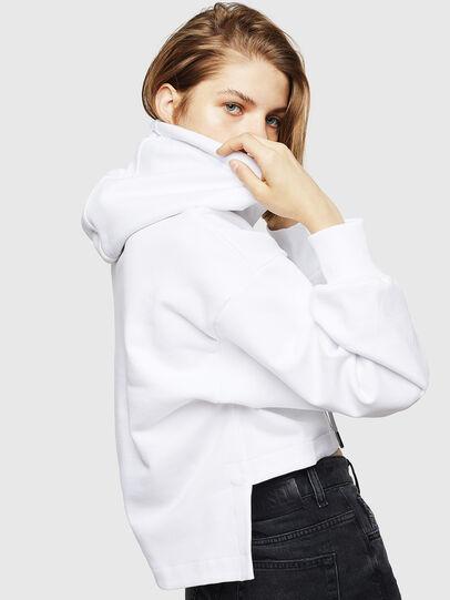 Diesel - F-DINIE-B, Weiß - Sweatshirts - Image 5