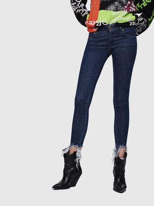 Slandy Low 088AT, Mittelblau - Jeans