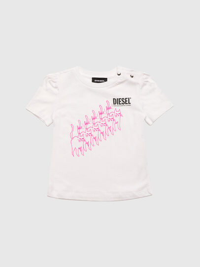 Diesel - TLOPPIB, Blanc - T-shirts et Hauts - Image 1