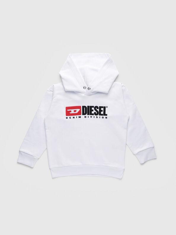SDIVISION OVER, Weiß - Sweatshirts