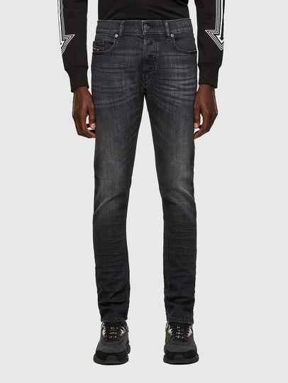 Diesel - D-Luster 009EN, Nero/Grigio scuro - Jeans - Image 1
