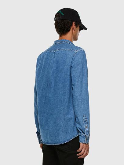 Diesel - D-BILLY, Blu Chiaro - Camicie in Denim - Image 5