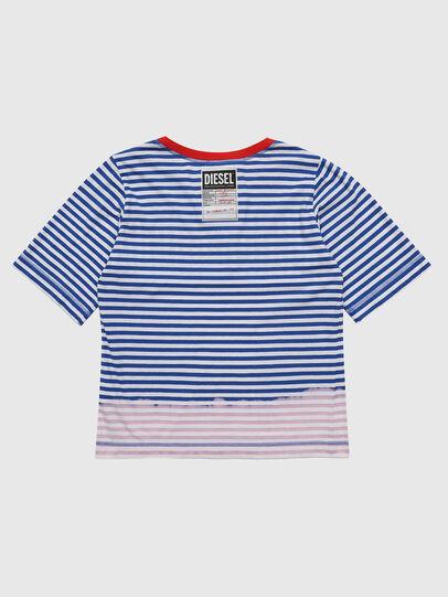 Diesel - TJVANE, Blau/Weiß - T-Shirts und Tops - Image 2