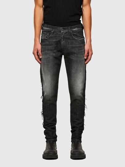 Diesel - D-Strukt 009HY, Schwarz/Dunkelgrau - Jeans - Image 1