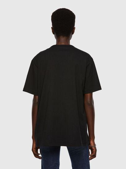 Diesel - T-BOYISH, Noir - T-Shirts - Image 2