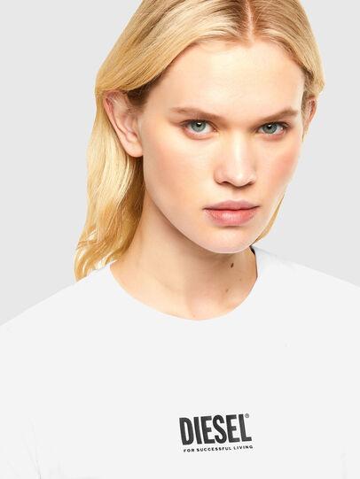 Diesel - T-SILY-SMALLOGO, Blanc - T-Shirts - Image 3