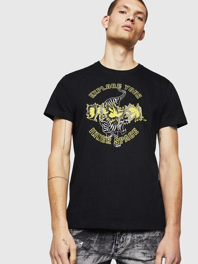 Diesel - T-DIEGO-B15, Schwarz - T-Shirts - Image 1