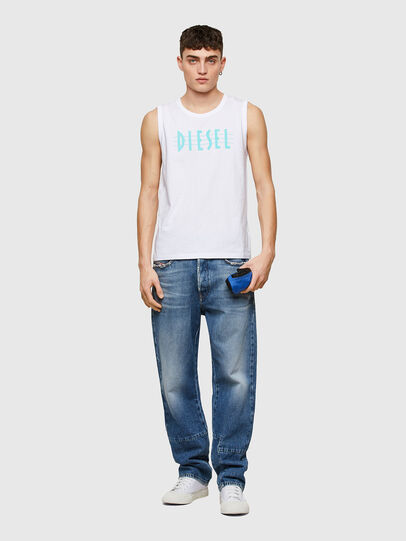 Diesel - T-OPPY, Bianco - T-Shirts - Image 4