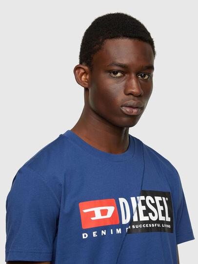 Diesel - T-DIEGO-CUTY, Blu - T-Shirts - Image 3