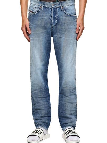 Diesel - D-Fining 009NS, Bleu Clair - Jeans - Image 1