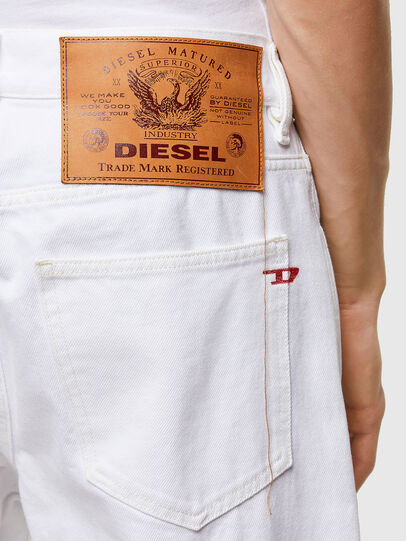 Diesel - D-Macs 0ABBY, Weiß - Jeans - Image 4