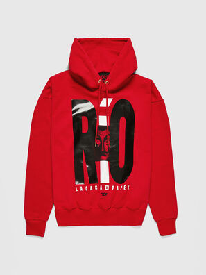 LCP-S-ALBY-RIO, Rot - Sweatshirts