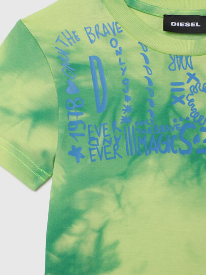 Diesel - TIMMYB-R, Vert - T-shirts et Hauts - Image 3