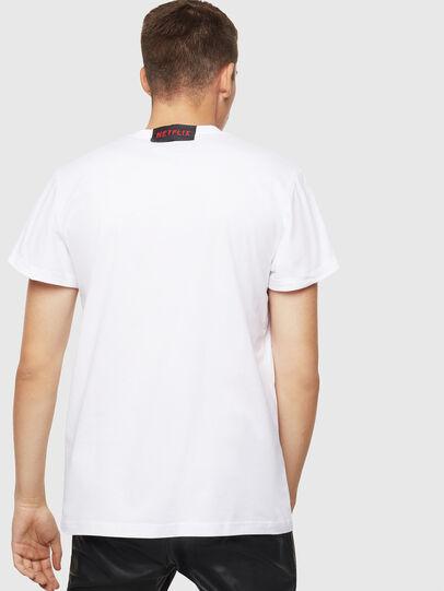 Diesel - LCP-T-DIEGO-NAIROBI, Weiß - T-Shirts - Image 3