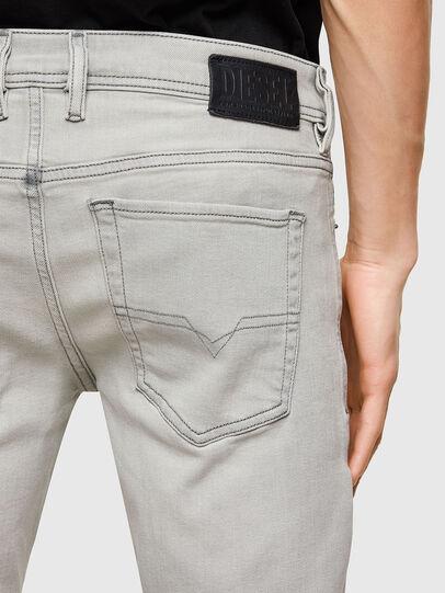 Diesel - Sleenker 009PY, Gris Clair - Jeans - Image 4