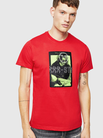 Diesel - T-DIEGO-J1, Rot - T-Shirts - Image 1