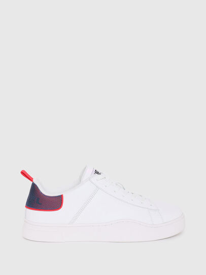 Diesel - S-CLEVER LOW LACE, Blanc/Rouge - Baskets - Image 1