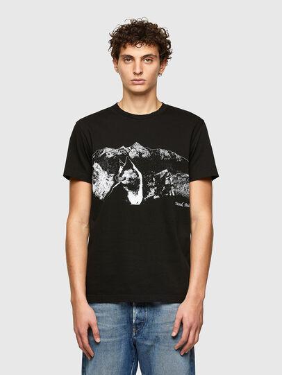 Diesel - T-DIEGOS-A7, Nero - T-Shirts - Image 1