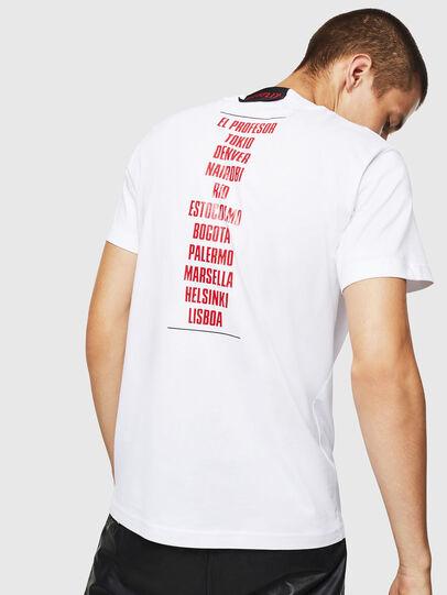 Diesel - LCP-T-DIEGO-CASA, Weiß - T-Shirts - Image 3