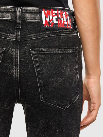 Diesel - Babhila 009FH, Schwarz/Dunkelgrau - Jeans - Image 4