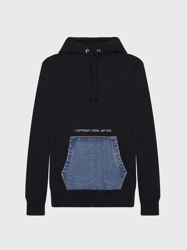 S-THOS, Schwarz - Sweatshirts