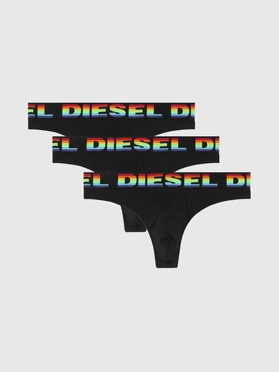 Diesel - UMBR-STRINGTHREEPACK, Noir - Culottes - Image 1
