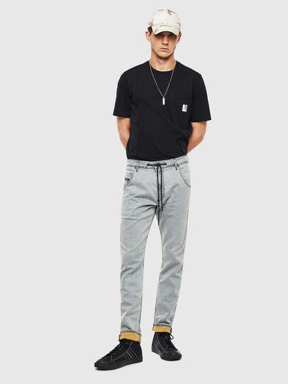 Diesel - Krooley JoggJeans 069MH, Grau - Jeans - Image 7