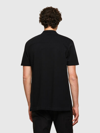 Diesel - T-POLO-WORKY, Nero - Polo - Image 2