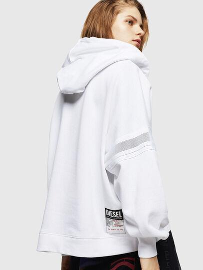 Diesel - F-AVAL, Weiß - Sweatshirts - Image 2