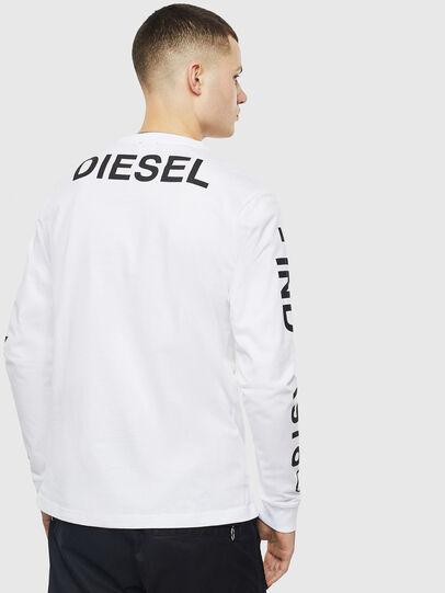 Diesel - T-JUST-LS-T14, Weiß - T-Shirts - Image 2