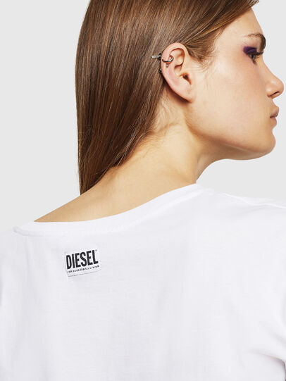 Diesel - T-JACKY-J, Weiß - Oberteile - Image 3