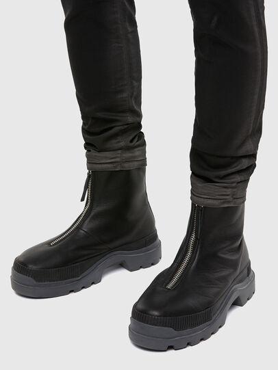 Diesel - D-Strukt JoggJeans® 069QX, Schwarz/Dunkelgrau - Jeans - Image 5