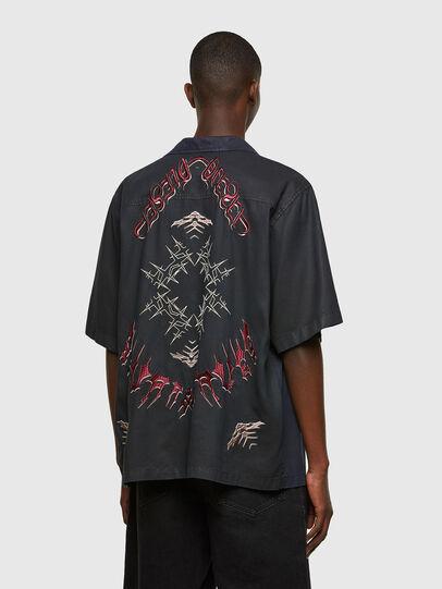 Diesel - D-MITCH-SP, Noir - Chemises - Image 2