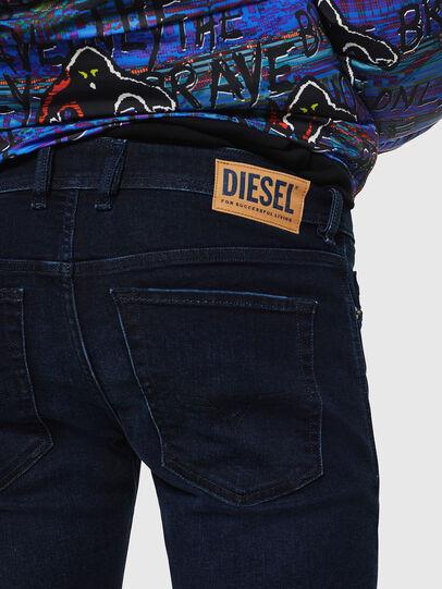 Diesel - Sleenker 083AG, Dunkelblau - Jeans - Image 5