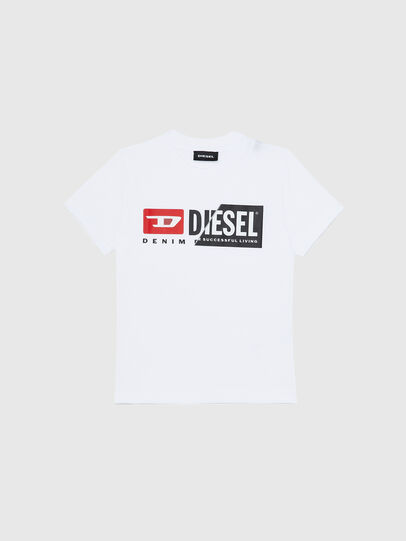 Diesel - TDIEGOCUTYB-R, Blanc - T-shirts et Hauts - Image 1