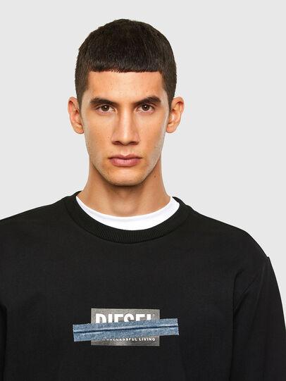 Diesel - S-GIRK-N83, Schwarz - Sweatshirts - Image 3