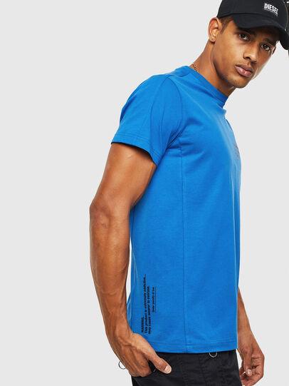 Diesel - T-HOVER, Blau - T-Shirts - Image 4