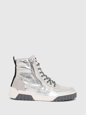 S-RUA MID W, Silber - Sneakers