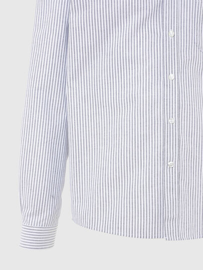 Diesel - S-JAMES-A, Blu/Bianco - Camicie - Image 4