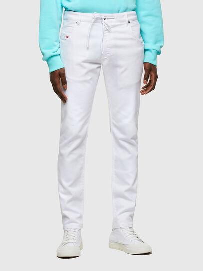Diesel - Krooley JoggJeans® 0684U, Weiß - Jeans - Image 1