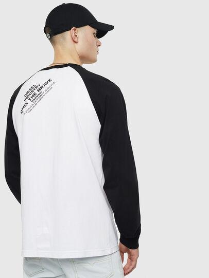 Diesel - T-RODDI, Weiß/Schwarz - T-Shirts - Image 2