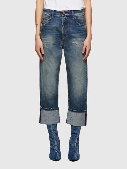 Diesel - D-Reggy 009UA, Bleu Foncé - Jeans - Image 1