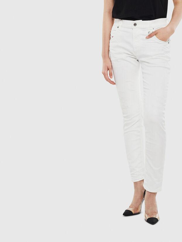 Krailey JoggJeans 069DS, Weiß - Jeans