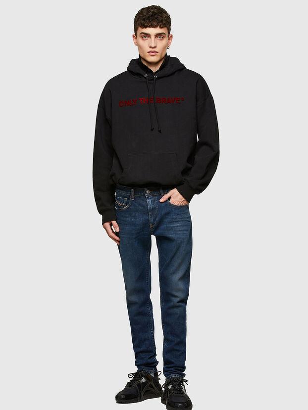 D-Strukt 009NV, Dunkelblau - Jeans