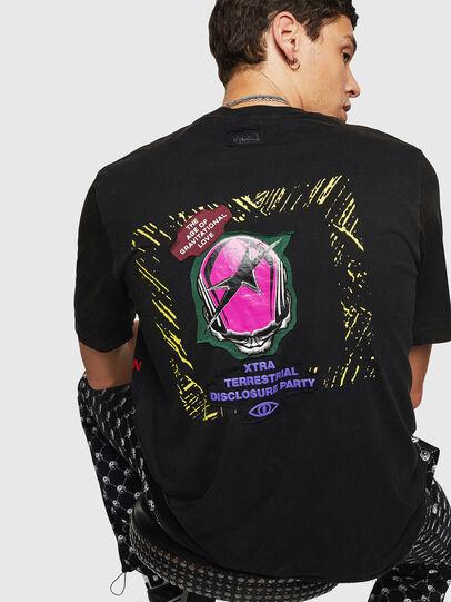 Diesel - T-JUST-B30, Schwarz - T-Shirts - Image 2