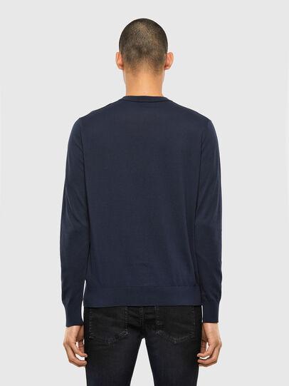 Diesel - K-FREEX-B, Dark Blue - Knitwear - Image 2